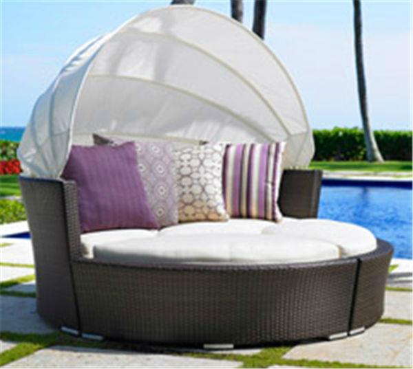 Patio Rattan Furniture SunbedBali Bed OutdoorOutdoor