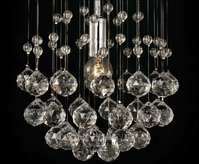 Diy Modern Style Ceiling Crystal Chandelier Lamp Ns 120172