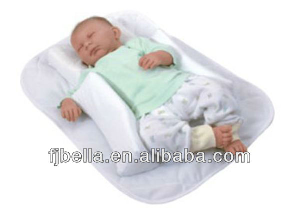 Memory Foam Baby Positioner Pillow With Mattress