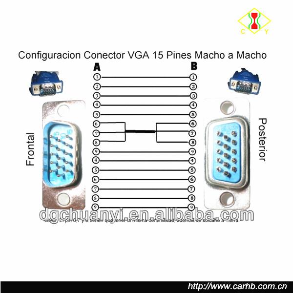 vga wire diagram vga port wiring diagram images port vga svga rh mamiy tripa co Data Cable Pinout VGA to RCA Cable Diagram