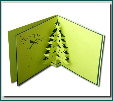 Christmas Tree 3d Pop Up Greeting Card Buy Pop Up