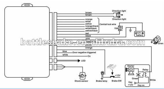 silencer alarm wiring diagrams