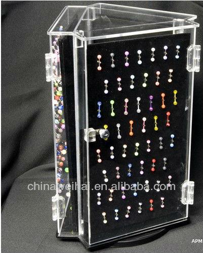 24 Inch Acrylic Big Body Jewelry Display For Body Piercing