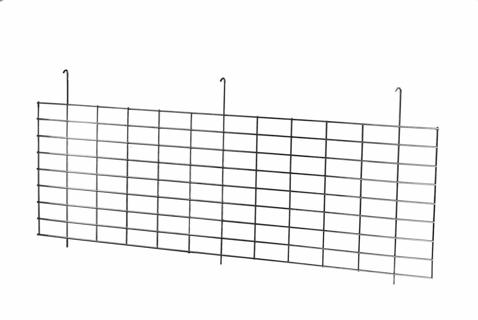 Wire Mesh Rack Supermarket Pallet Metal Hanging Shelf Dividers