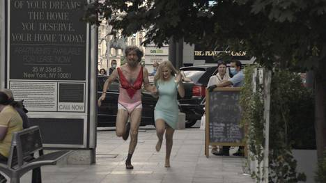Sacha Baron Cohen and Maria Bakalova star in the new Borat film Father and Daughter.