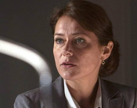 Sidse Babett in Knudsen's favorite Danish series Fortress of Power.