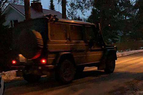 An armored police car was also seen earlier on Saturday in Hakunila.  The cases are not related.