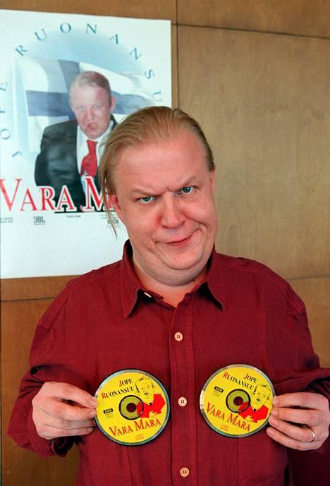 "One of Jope Ruonansuu's most popular imitations was President Martti Ahtisaari. He also recorded ""Vara-Marana"" on the 1997 album."