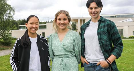 The stars of the new Bull Kill are Ofelia Hanttu, Rebekka Baer and Carola Hakola.