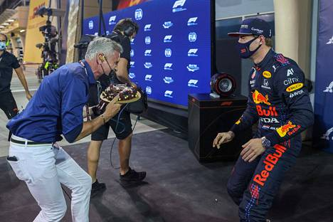 Should have guessed!  David Coulthard knows the tricks of Max Verstappen, but still came as a surprise.