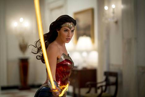 Gal Gadot is seen again in the role of Wonder Woman.