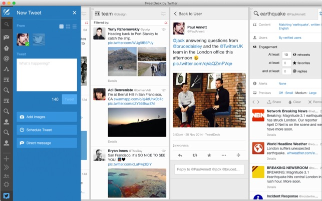 TweetDeck by Twitter Screenshot