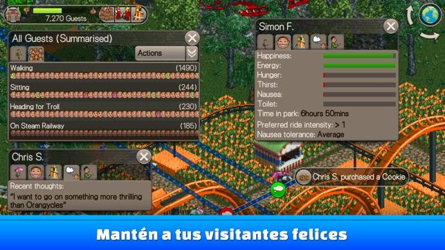 RollerCoaster Tycoon® Classic Screenshot
