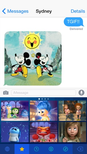 Disney Gif + Keyboard Screenshot