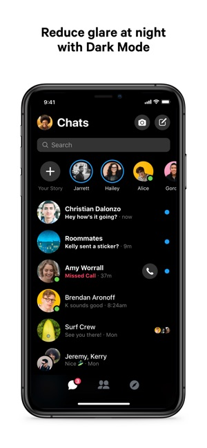 ‎Messenger Screenshot
