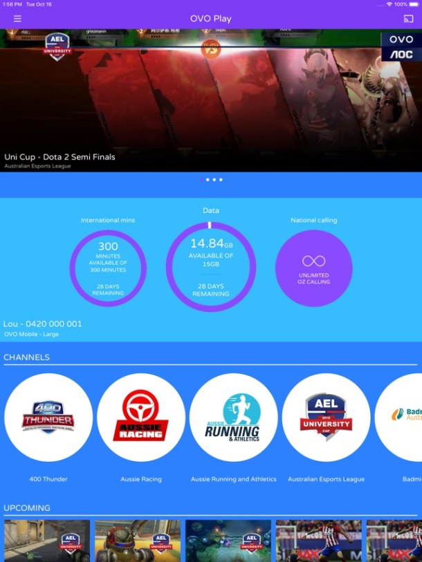 OVOPlay: Streaming + mobile Screenshot