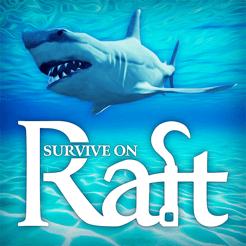 Survival on Raft in the Ocean