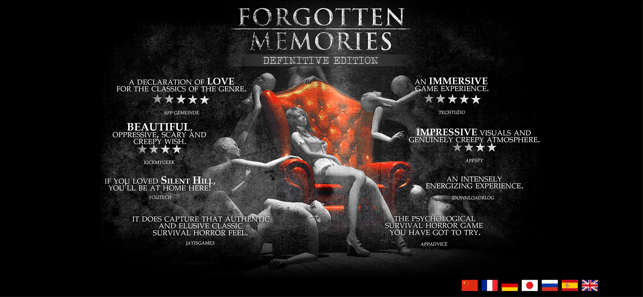 ‎Forgotten Memories Screenshot