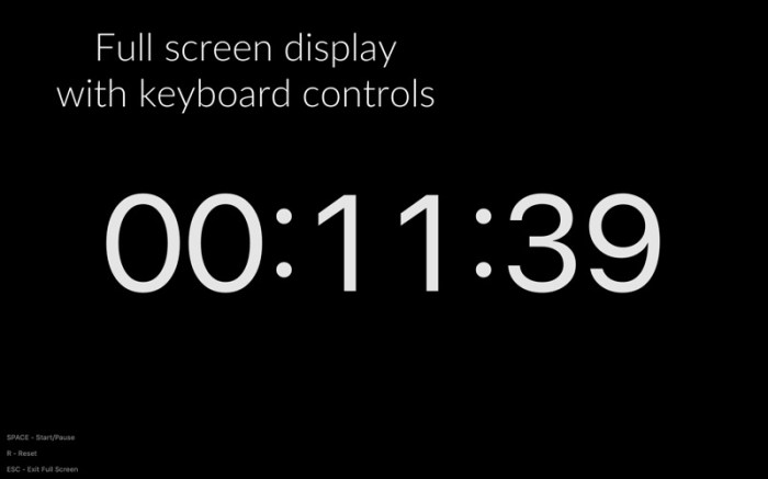 Timey 3: menu bar timer Screenshot 04 f5mxejn