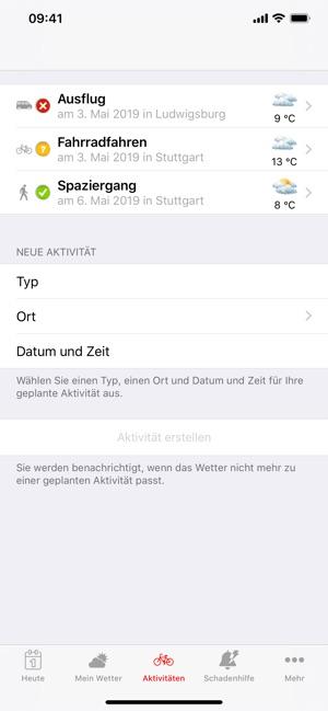 SV Haus & Wetter Screenshot
