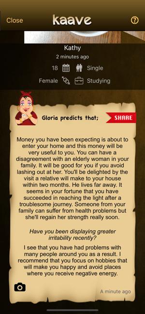 Kaave - Coffee Fortune Reading Screenshot