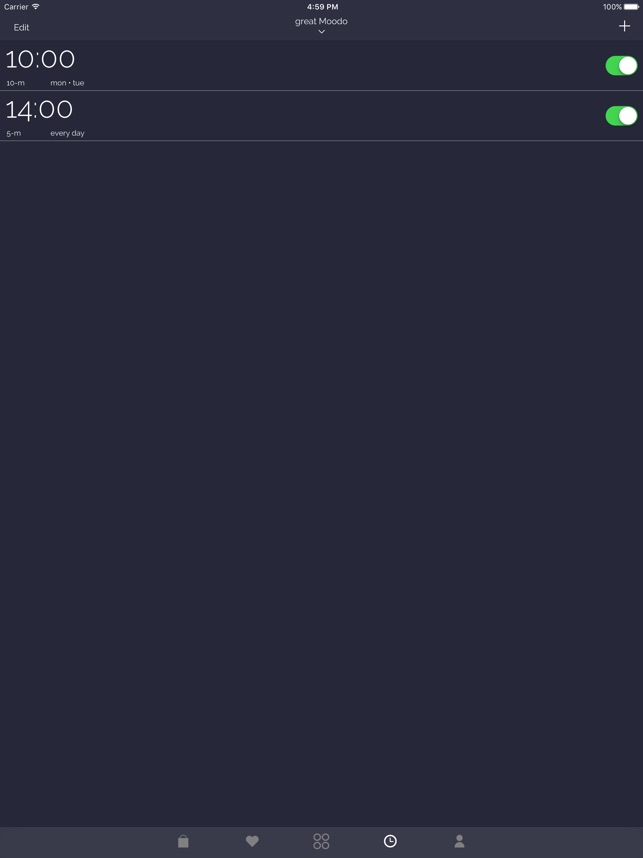 Moodo Screenshot