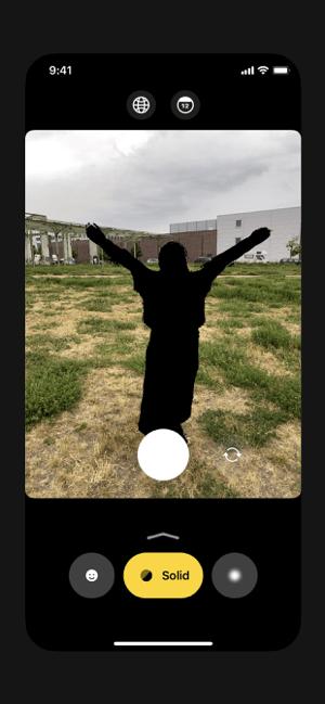 Anonymous Camera Screenshot