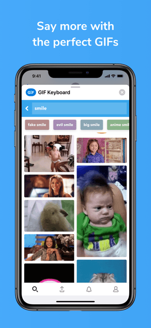 ‎GIF Keyboard Screenshot
