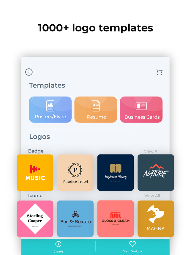 ‎Logo Maker- Create a design Screenshot