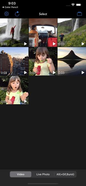 Live 2 Photos Screenshot