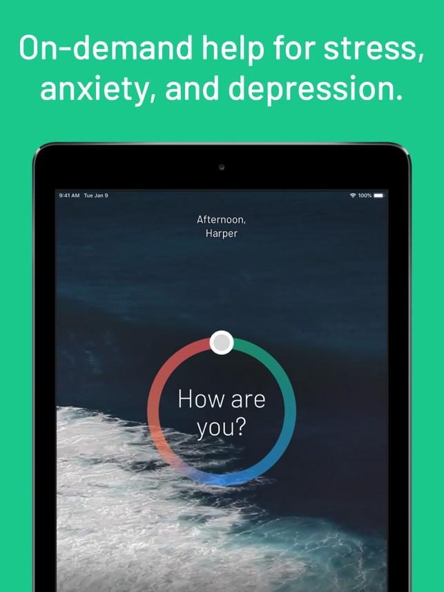 Sanvello for Stress & Anxiety Screenshot