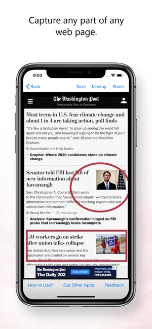 Web2Pics - Webpage Screenshots Screenshot