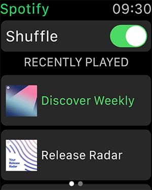 Spotify: musica e podcast Screenshot