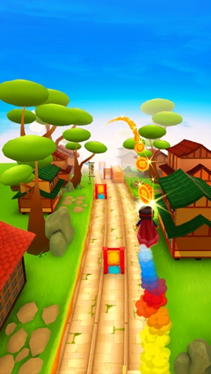 Ninja Kid Run VR: Fun Games Screenshot