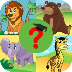 Learn Animal Quiz Games App