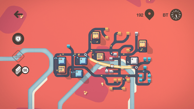 Mini Motorways Screenshot