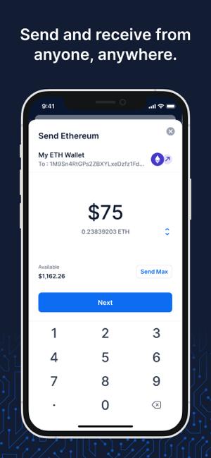 Blockchain Wallet: Buy Bitcoin Screenshot
