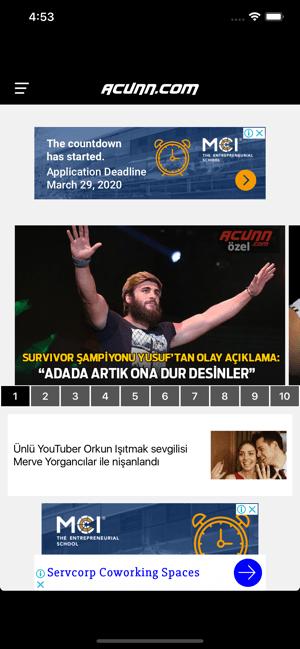 Acunn Screenshot