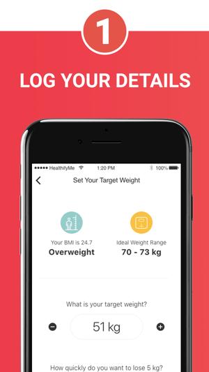 HealthifyMe: Weight Loss Plan Screenshot