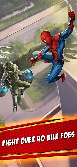 MARVEL Spider-Man Unlimited Screenshot