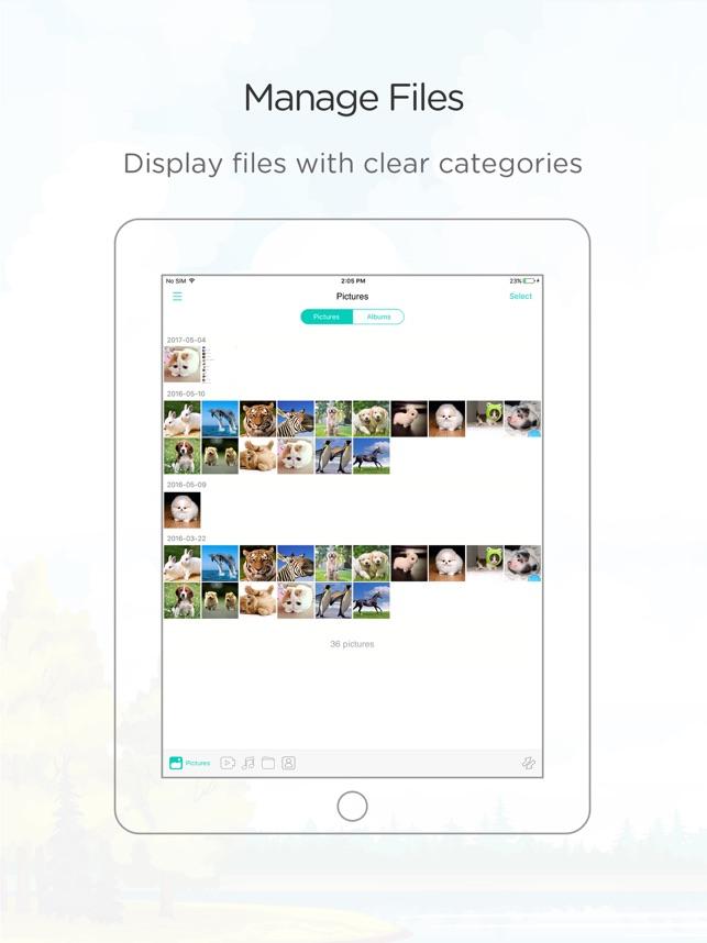 ApowerManager – File Manager Screenshot