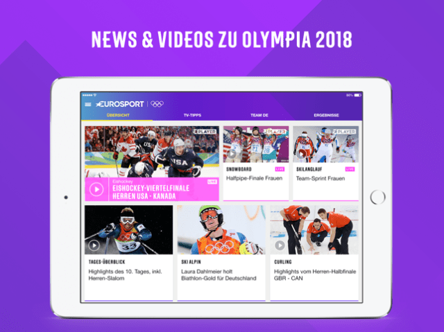 Eurosport Screenshot