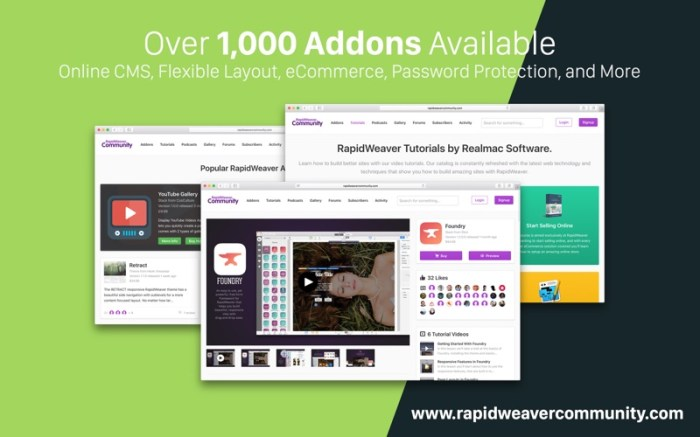 RapidWeaver 8 Screenshot 8 9nlpq5n