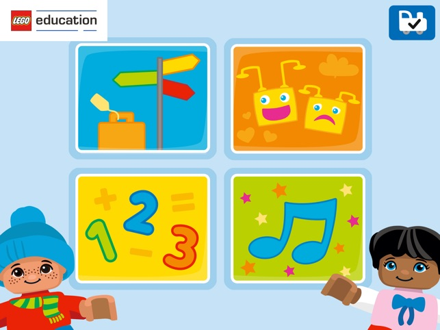‎Coding Express LEGO® Education Screenshot
