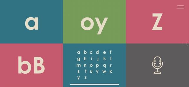 Einführung in die Buchstaben Screenshot