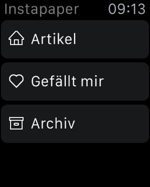 Instapaper Screenshot
