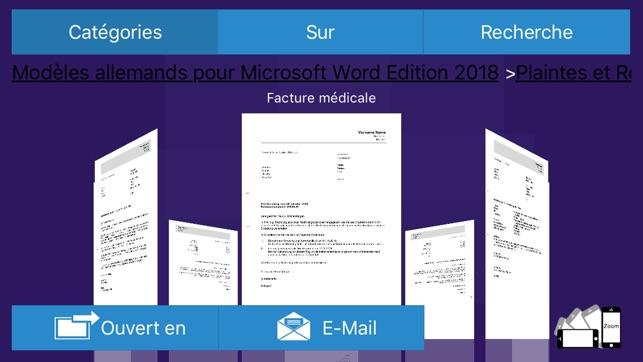 modeles pour microsoft word