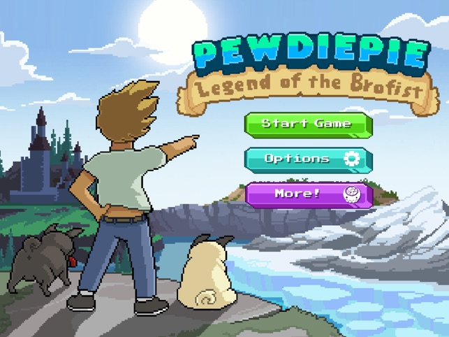 PewDiePie: Legend of Brofist Screenshot
