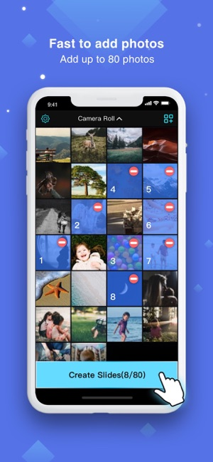 imgSlides - slideshow maker Screenshot
