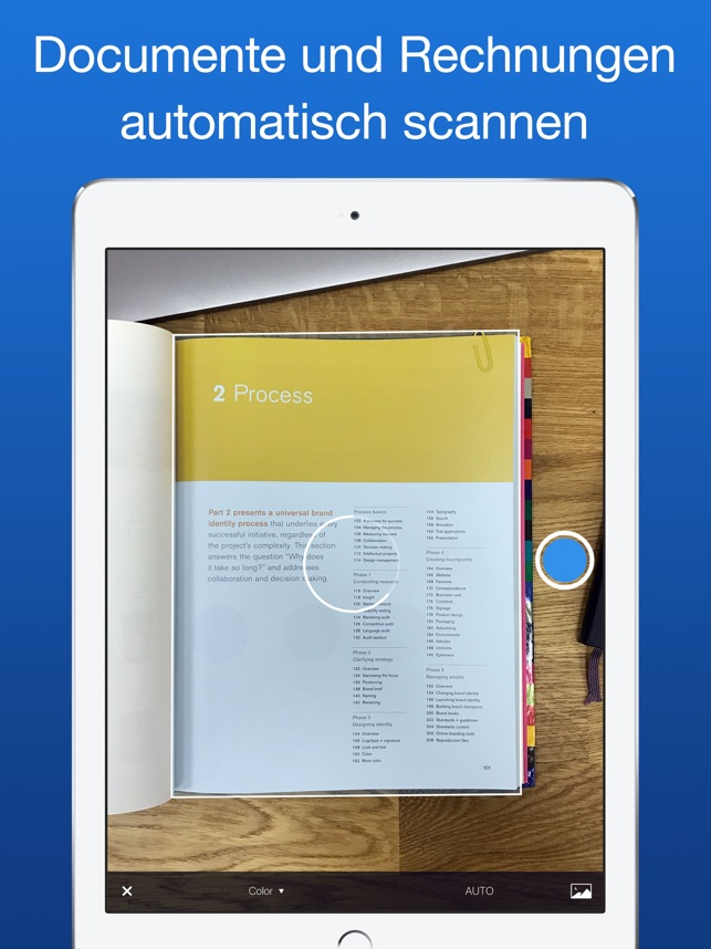 Scanner Pro Screenshot